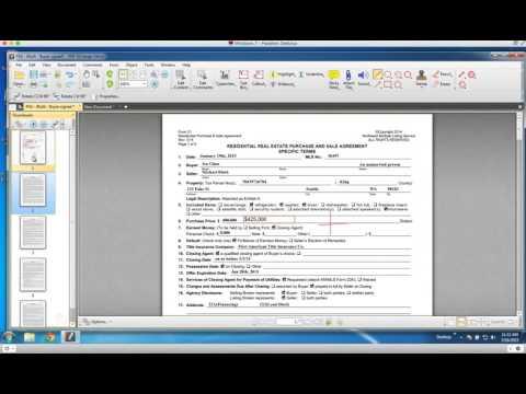 PDF X Change Editor Tutorial