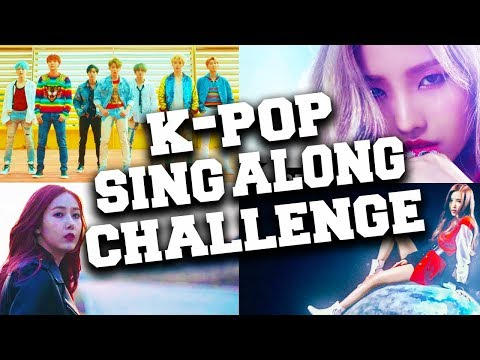 Try Not To Sing Along Challenge! K-Pop Songs