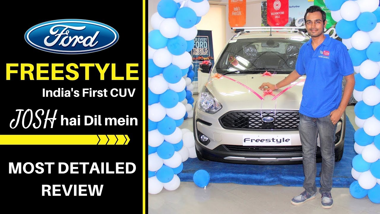 Ford Freestyle  Crash Test Safety Rating Car Review Hindi Ujjwal Saxena
