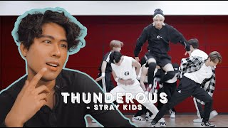 Performer Reacts to Stray Kids 'Thunderous' Dance Practice | Jeff Avenue