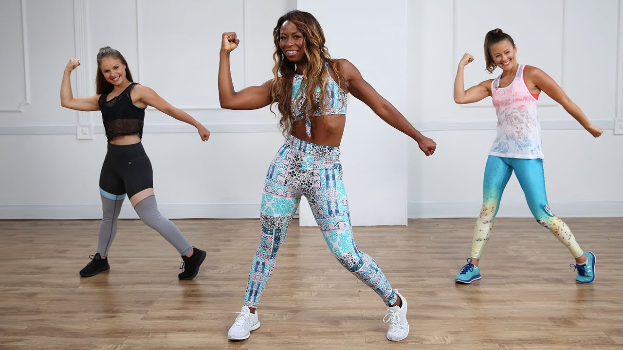 Minute Cardio Dance Workout Popsugar Fitness