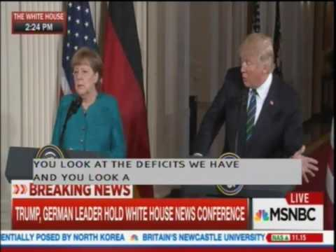 Thumbnail: Trump and German Reporter Exchange Insults During Press Conference