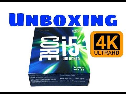 Unboxing Intel i5-6600K Processor Unlocked [iPhone6S+]