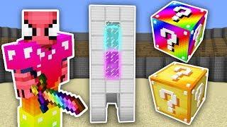 GÖKKUŞAĞI ŞANS BLOKLARI CHALLENGE - Minecraft