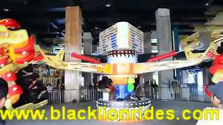 Thrilling and fun theme park amusement equipment energy storm rides