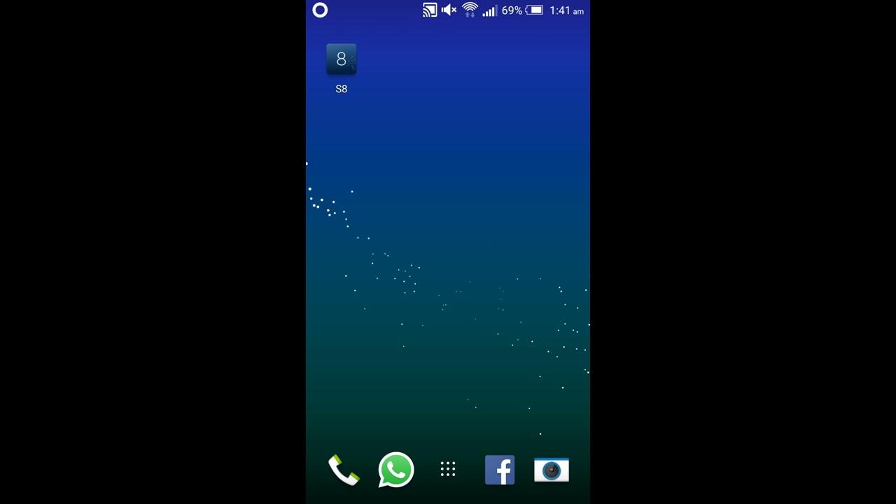 S8 Live Wallpaper [Demo] - YouTube