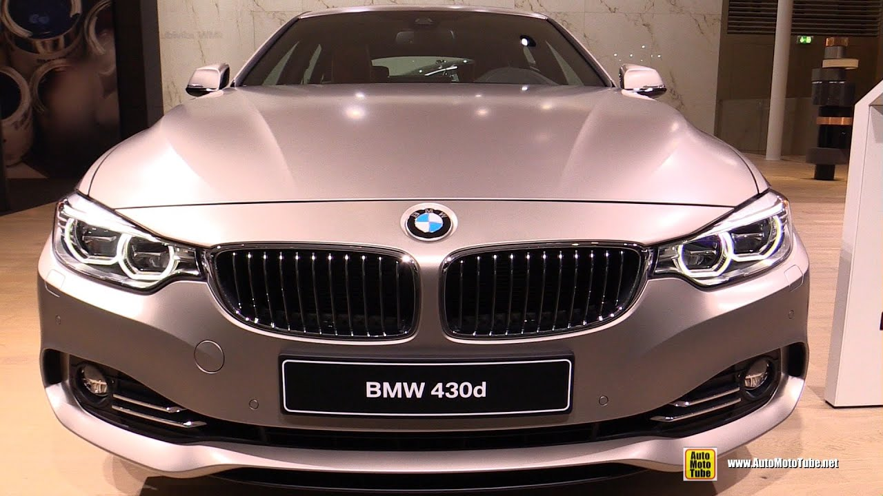 2016 bmw 430d gran coupe exterior and interior walkaround 2015 frankfurt motor show youtube. Black Bedroom Furniture Sets. Home Design Ideas
