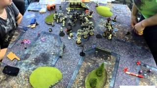 Attack-X 2014 - Round 5 - Cygnar vs Trollbloods