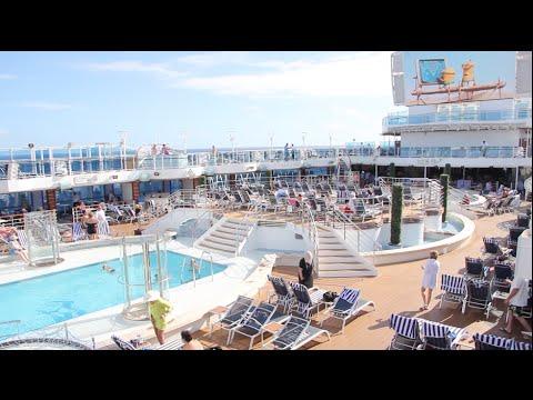 REGAL PRINCESS CRUISE SHIP VLOG! AT SEA! DEC 2015 -  DAY 6
