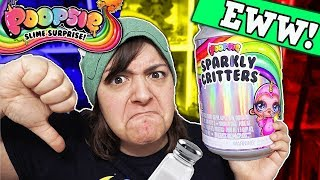 DON'T BUY?! 9 REASONS WHY POOPSIE SPARKLY CRITTERS Slime  CRAFT Kit is NOT worth it SaltEcrafter #51