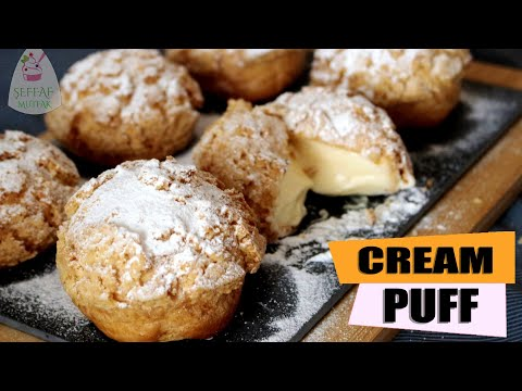 Cream puff | Krema Dolgulu Kıtır Profiterol |ŞEFFAF MUTFAK