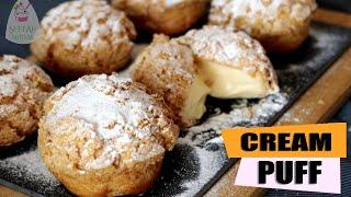 Cream puff   Krema Dolgulu Kıtır Profiterol  ŞEFFAF MUTFAK