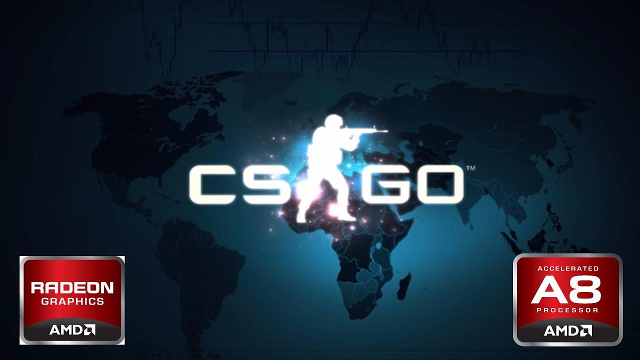 CS GO - AMD A8 6410 R5 RADEON - LENOVO G50-45 #GAMING ON AMD