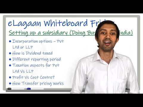 Setting up an Indian Subsidiary - Doing Business in India [Whiteboard Friday]