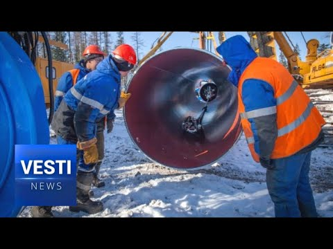 Vesti Special Report on the Power of Siberia! Absolutely Massive Energy Project Nears Completion!