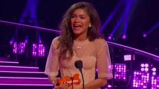 Zendaya WINS Favorite Movie Actress & Gives Heartfelt Speech At The 2018 Kids' Choice Awards