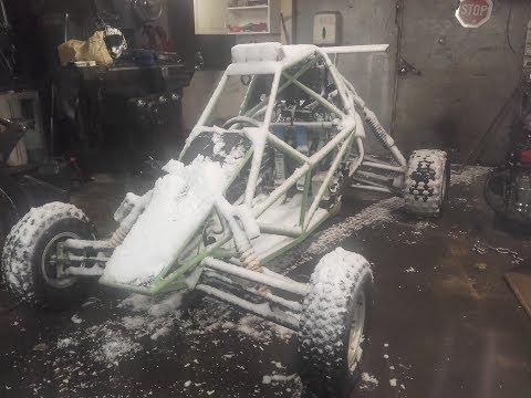Repeat Crosskart barracuda buggy project 1000 - Pedal to the