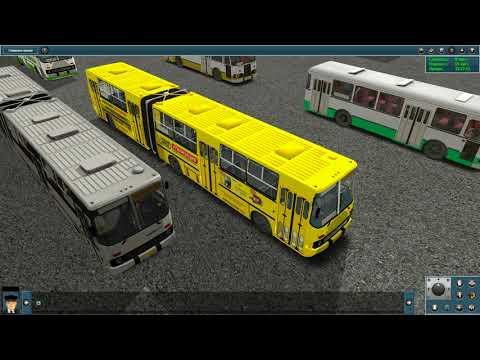 Trainz 12. Моя коллекция автобусов