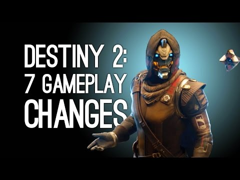 Destiny 2: 7 Gameplay Changes to Destiny 2 (NO MORE ORBIT!)