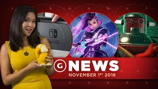 New Overwatch Character Leaked & Nintendo Switch Details - GS News