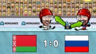 Флеш игры, Хоккей Марионеток, озвучка от фонаря