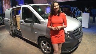 Torie checks out the new Vito in Berlin - Mercedes-Benz original(, 2014-07-31T08:33:24.000Z)