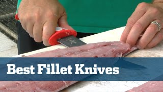 Fillet Knives; How To Select The Best Fillet Knife(http://floridasportfishing.com/subscribe - On this episode of Florida Sport Fishing TV, Captain Mike takes a break from the wreck fishing action to discuss an ..., 2014-10-15T21:12:08.000Z)
