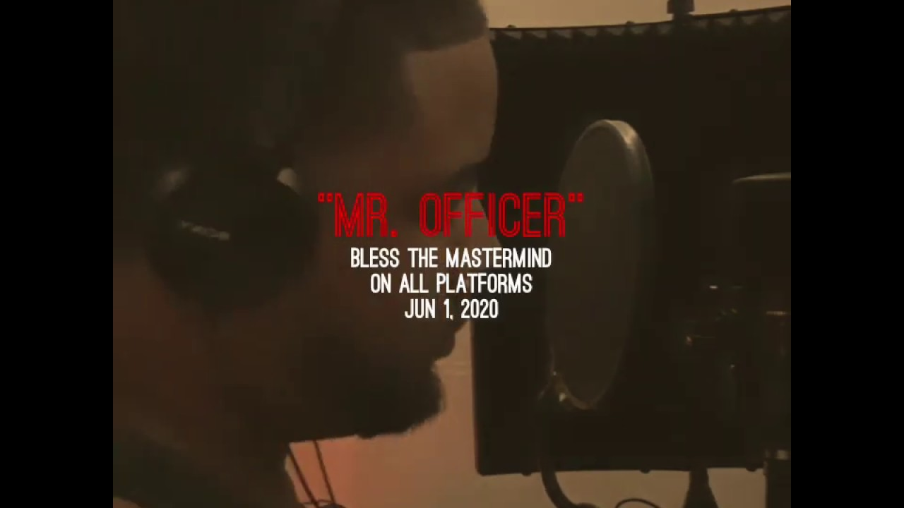 "Bless The Mastermind Releases Letter To Police In '""Mr. Officer"""