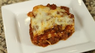 Lasagna With Meat Sauce - Make Jar Sauce Taste Homemade By Rockin Robin
