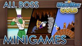 WarioWare Gold - All Boss Minigames