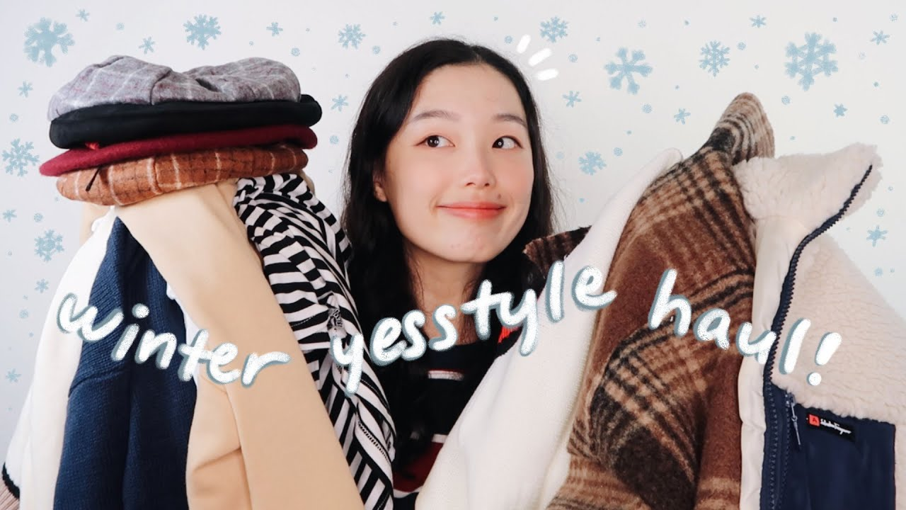 [VIDEO] - a cozy winter yesstyle try-on haul + simple outfit ideas! 2