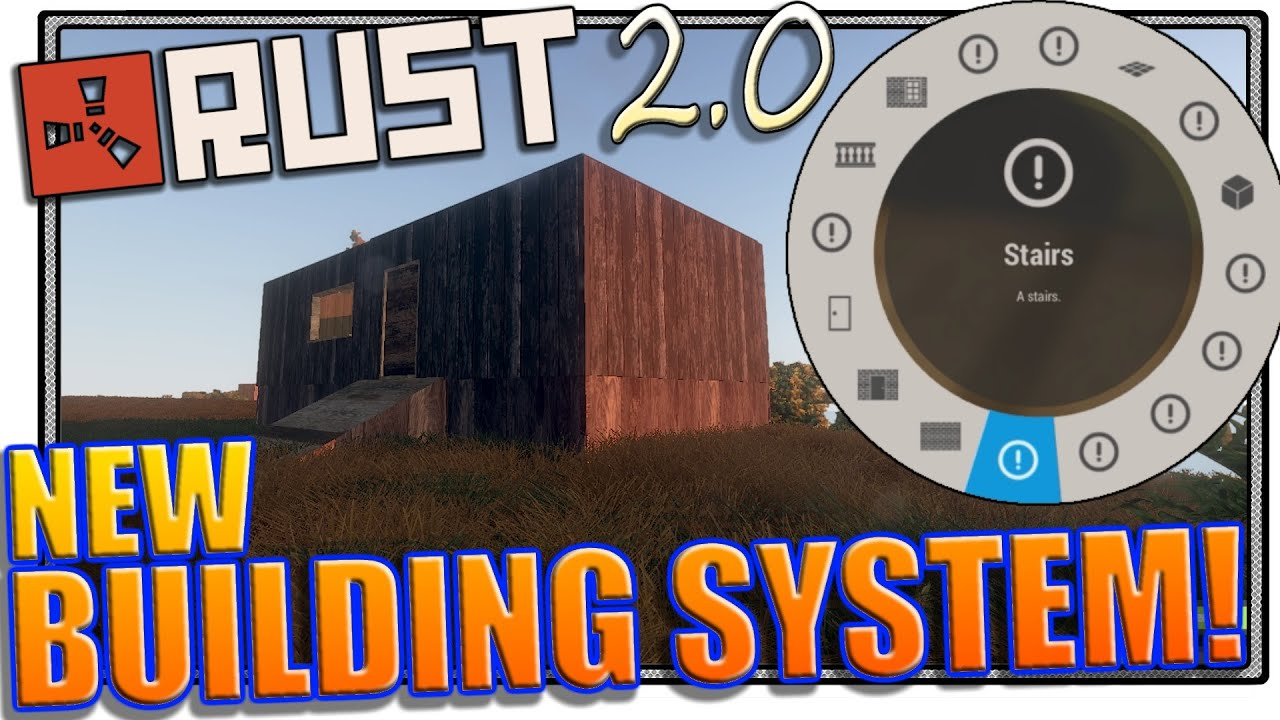 Rust new building system rust making a base youtube malvernweather Choice Image