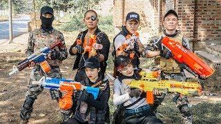 LTT Game Nerf War : Warriors SEAL X Nerf Guns Fight Criminal Group Inhuman Hidden Profession