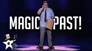 Magic Acts From The Past on America's Got Talent | Magicians Got Talent