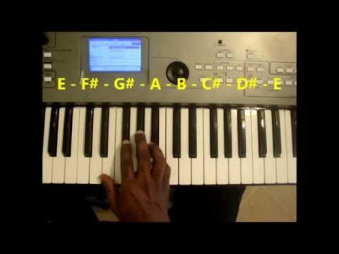 Chords In The Key Of E Major Piano Youtube