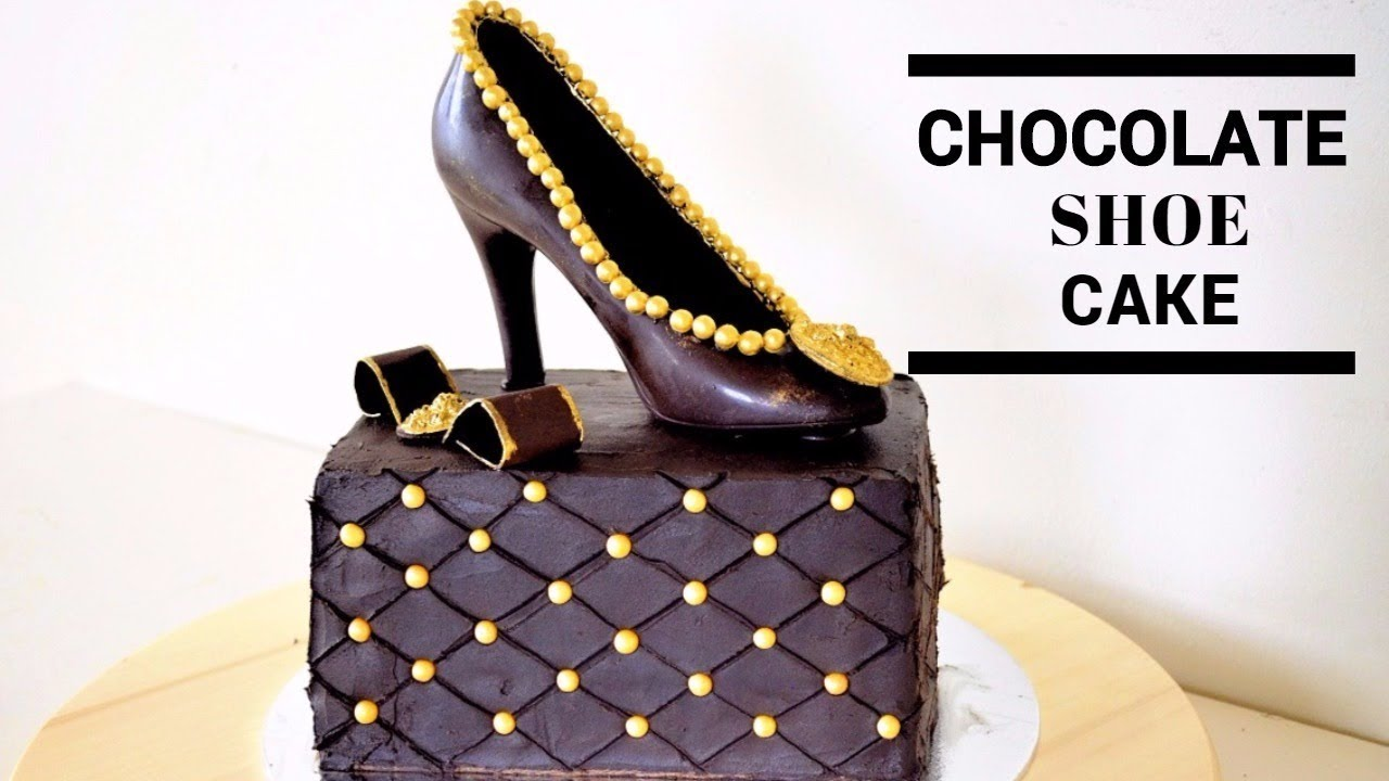 Chocolate Shoe Cake Tutorial Youtube