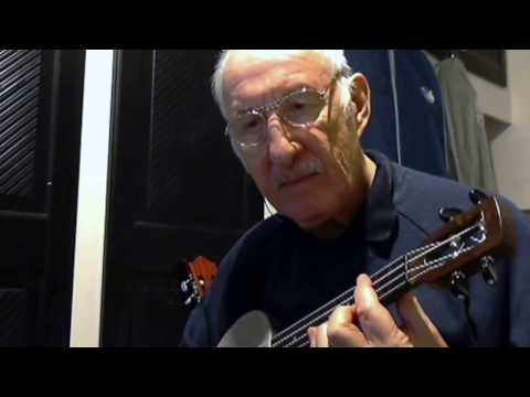 My Blue Heaven banjo ukavocal trad jazz style