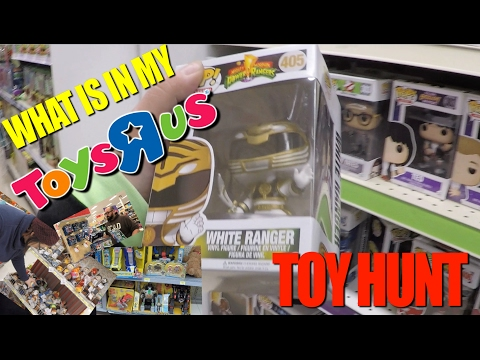 Shopping In Toys R Us (Pint Size Heroes, Transformers, MMPR, Funko)