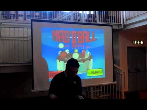 Mad O Ball 3d at Svilupparty - Italian Indie Game Developers conference and  meeting
