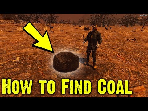 7 Days To Die How To Find Coal Deposits Alpha 18 Youtube