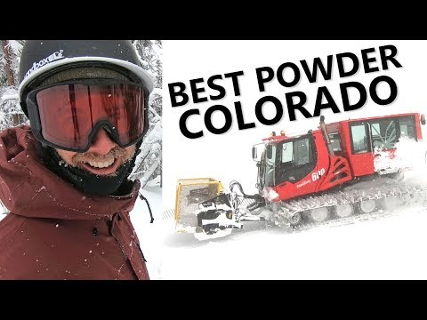 THE BEST POWDER SNOWBOARDING IN COLORADO