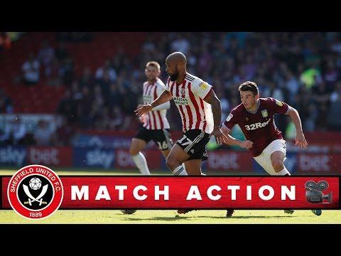 Blades 4-1 Villa - match action