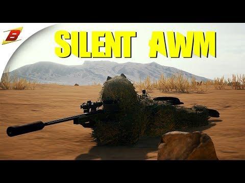 AWM Ghillie Sniper - PlayerUnknown's Battlegrounds Gameplay (PUBG Duo TPP)