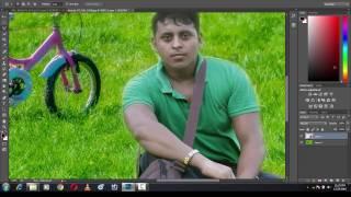 Adobe Photoshop Tutorial   Background Change Tutorial