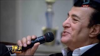 أركان فؤاد يشعل ستديو الإبراشى بأغنية «الوزارة»