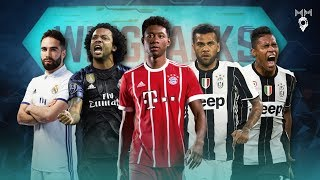 Top 10 Wing Backs in Football 2017 ● HD