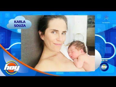 ¡Karla Souza, ya es mamá!   La Nube   Hoy