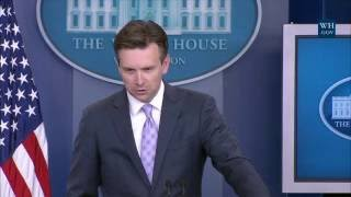 7/19/16: White House Press Briefing