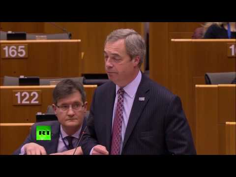 Farage: EU is showing its true nature now - geniune anti-Americanism