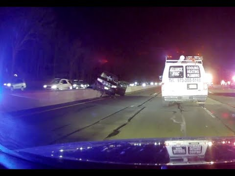 Garden state parkway 3 car accident 2 26 19 cranford nj - Car accident garden state parkway ...
